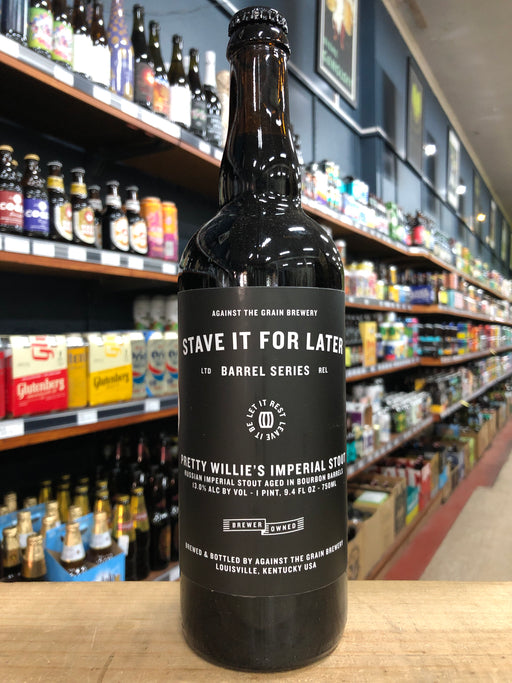Against the Grain Pretty Willie's Imperial Stout (Stave It For Later) 750ml