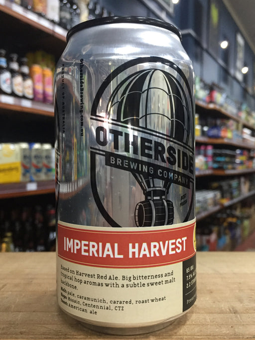 Otherside Imperial Harvest Red Ale 375ml Can