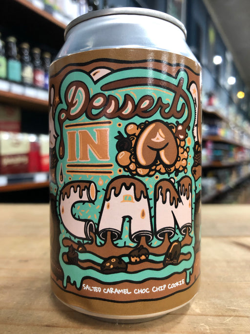 Amundsen Dessert In A Can - Salted Caramel Choc Chip Cookie 330ml