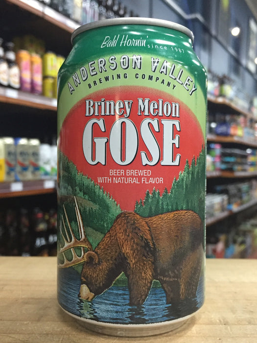 Anderson Valley Briney Melon Gose 355ml Can
