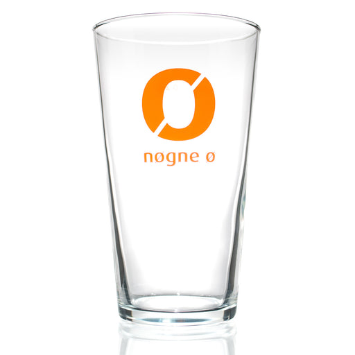Nøgne Ø Pint Beer Glass