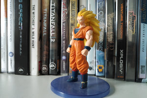 Goku Super Saiyajin 3 Action Figure Greets You One More Time