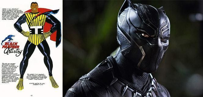 The Black Panther Costume Explained - 2018 Movie and Comics