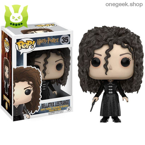 Bellatrix Lestrange Pop Culture Figures - Funko Pop Official Harry Potter - vinyl figures