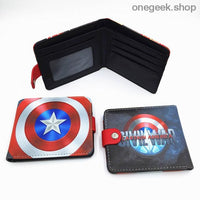 Blizzard Game Overwatch/Tokyo Ghoul Wallets - Marvel 001 - wallet