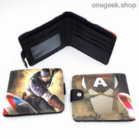 Blizzard Game Overwatch/Tokyo Ghoul Wallets - Marvel 002 - wallet