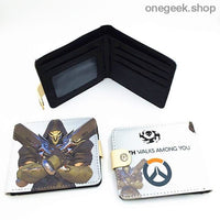 Blizzard Game Overwatch/Tokyo Ghoul Wallets - Overwatch 002 - wallet
