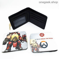 Blizzard Game Overwatch/Tokyo Ghoul Wallets - Overwatch 004 - wallet