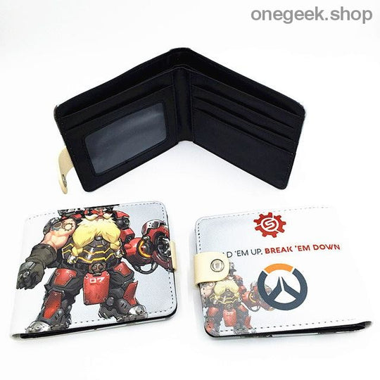 Blizzard Game Overwatch/Tokyo Ghoul Wallets