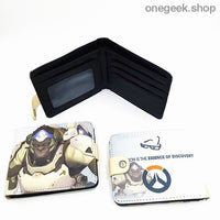 Blizzard Game Overwatch/Tokyo Ghoul Wallets - Overwatch 005 - wallet