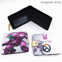 Blizzard Game Overwatch/Tokyo Ghoul Wallets - Overwatch 007 - wallet