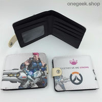 Blizzard Game Overwatch/Tokyo Ghoul Wallets - Overwatch 016 - wallet