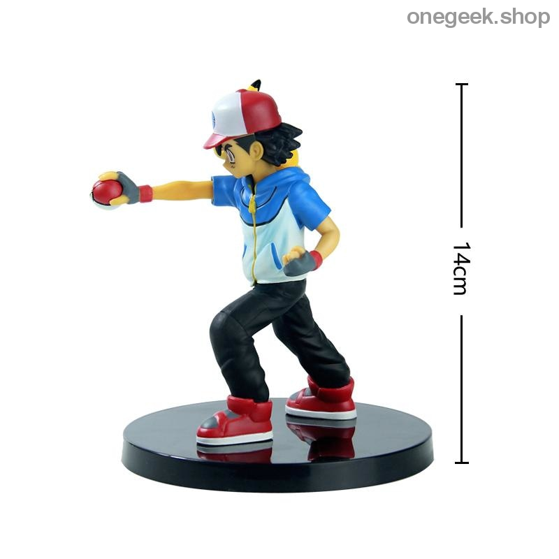Buy Ash Ketchum and Pikachu Partners Ready For Battle - 14 CM Pokemon Statues Best Anime Toys - figure