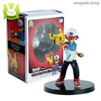 Buy Ash Ketchum and Pikachu Partners Ready For Battle - 14 CM Pokemon Statues Best Anime Toys - Ash Ketchum and Pikachu Partners - figure