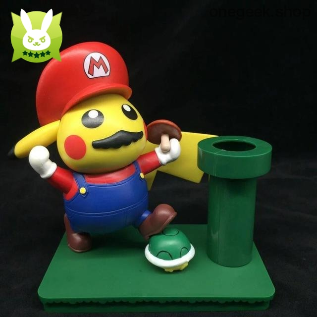 Buy Funny Pikachu Cosplay Mario Toy Best Anime Toys