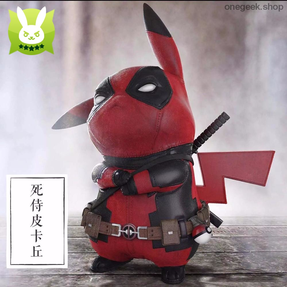 Buy Funny Pikachu Deadpool Cosplay Model Toy Best Anime Toys