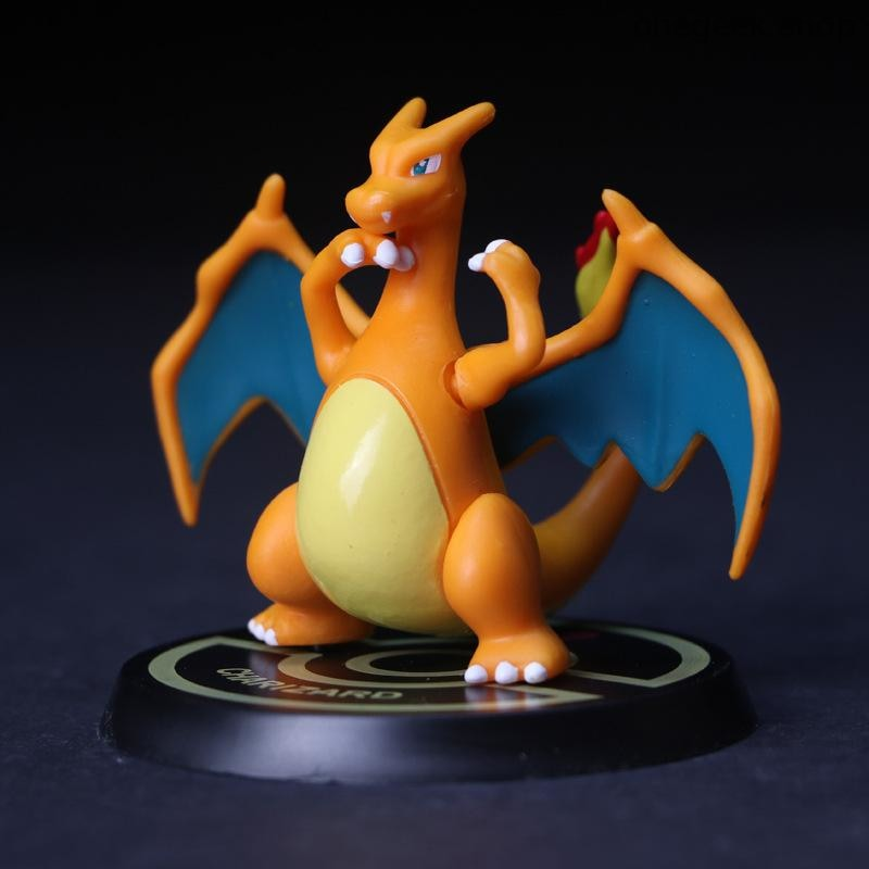 Buy Pikachu Mewtwo Charizard Venusaur Blastoise - Best Pokemon Mini Statues Best Anime Toys - figure