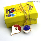 Buy Pokemon Go Cosplay Badge + Pendant Best Anime Toys - ball badge blue - badge