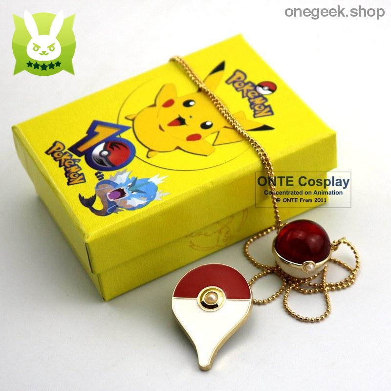 Buy Pokemon Go Cosplay Badge + Pendant Best Anime Toys - ball badge red - badge