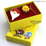 Buy Pokemon Go Cosplay Badge + Pendant Best Anime Toys - ball badge yellow - badge