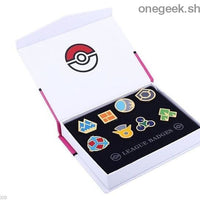 Buy Pokemon Gym Badges: Kanto Johto Hoenn Sinnoh Unova Kalos - 8pcs Set League Region Pins Brooches Best Anime Toys - Sinnoh - badge
