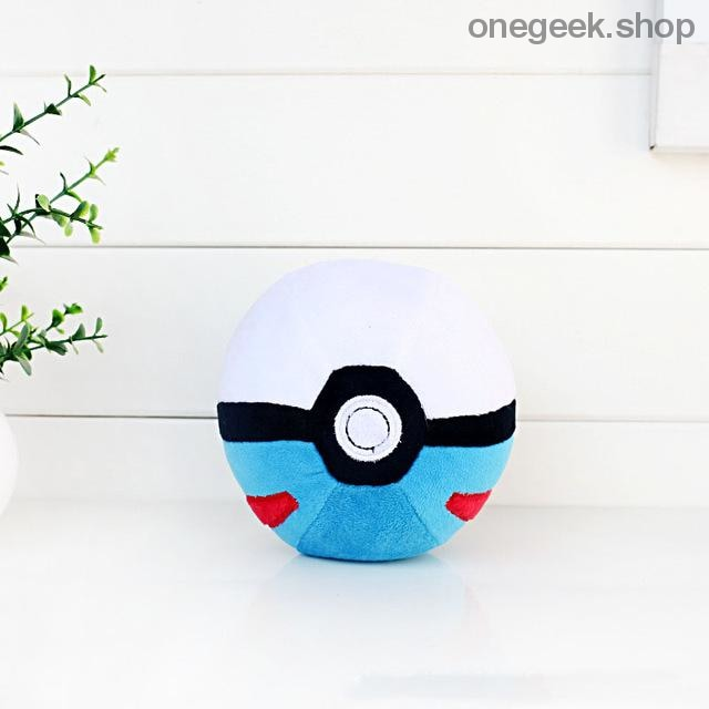 Buy Pokémon PokéBall Plush - 3 Sizes Toys Perfect For All Kinds Of Cuddles Best Anime Toys - 8cm / Blue - Plush Toys