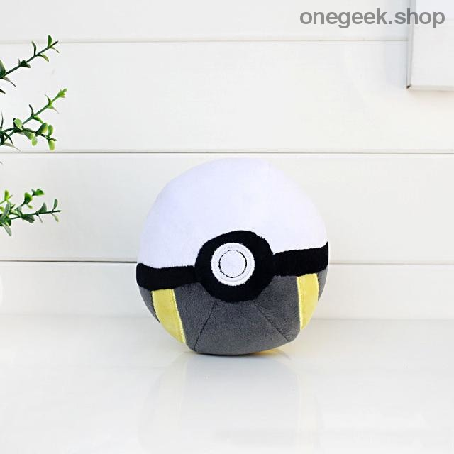 Buy Pokémon PokéBall Plush - 3 Sizes Toys Perfect For All Kinds Of Cuddles Best Anime Toys - 8cm / Gray - Plush Toys