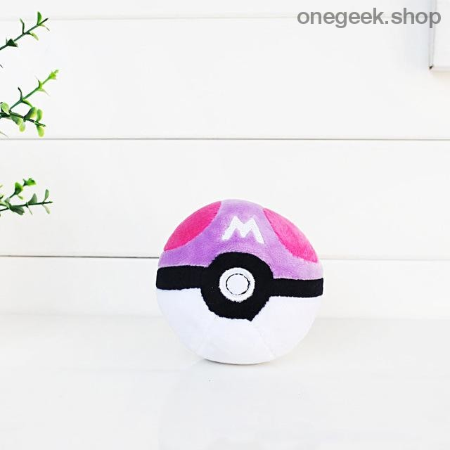 Buy Pokémon PokéBall Plush - 3 Sizes Toys Perfect For All Kinds Of Cuddles Best Anime Toys - 8cm / Purple - Plush Toys
