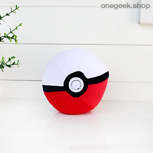 Buy Pokémon PokéBall Plush - 3 Sizes Toys Perfect For All Kinds Of Cuddles Best Anime Toys - 8cm / Red - Plush Toys