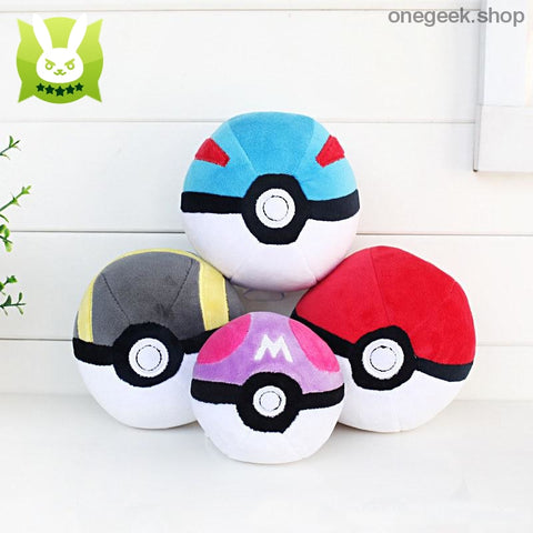 Buy Pokémon PokéBall Plush - 3 Sizes Toys Perfect For All Kinds Of Cuddles Best Anime Toys - Plush Toys