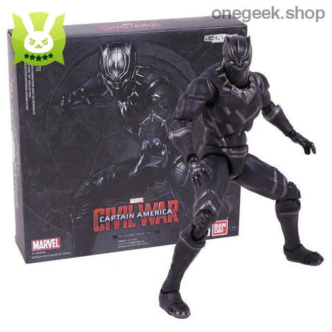 Captain America Civil War - Black Panther PVC Action Figure - action figure