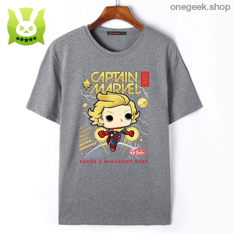 Captain Marvel Men T-Shirt - clothes
