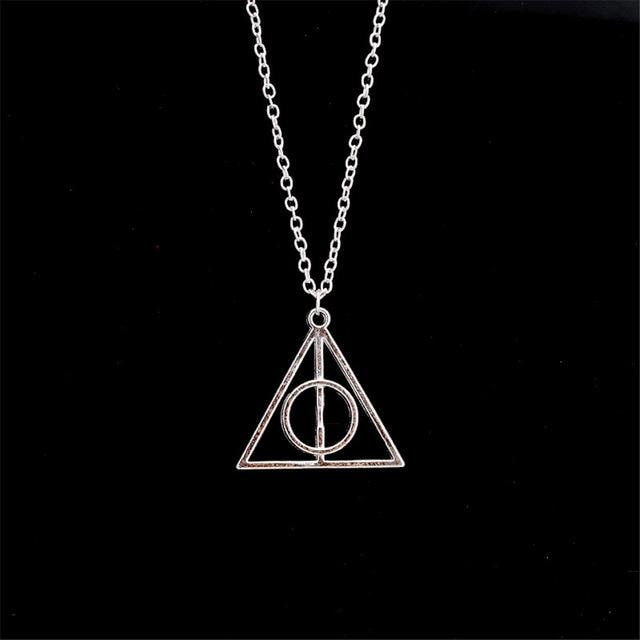 Deathly Hallows Harry Potter - Vintage Pendant Necklaces - 1