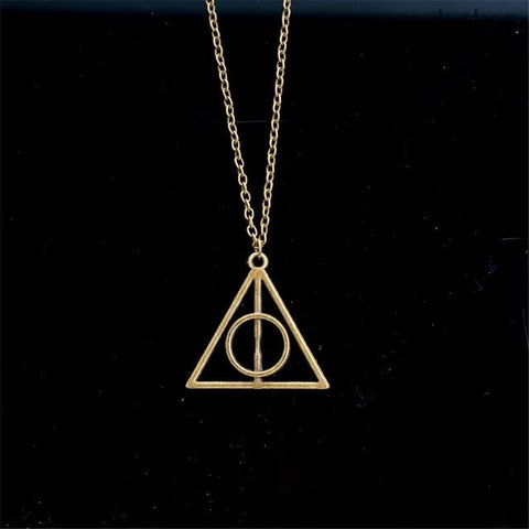 Deathly Hallows Harry Potter - Vintage Pendant Necklaces - 2