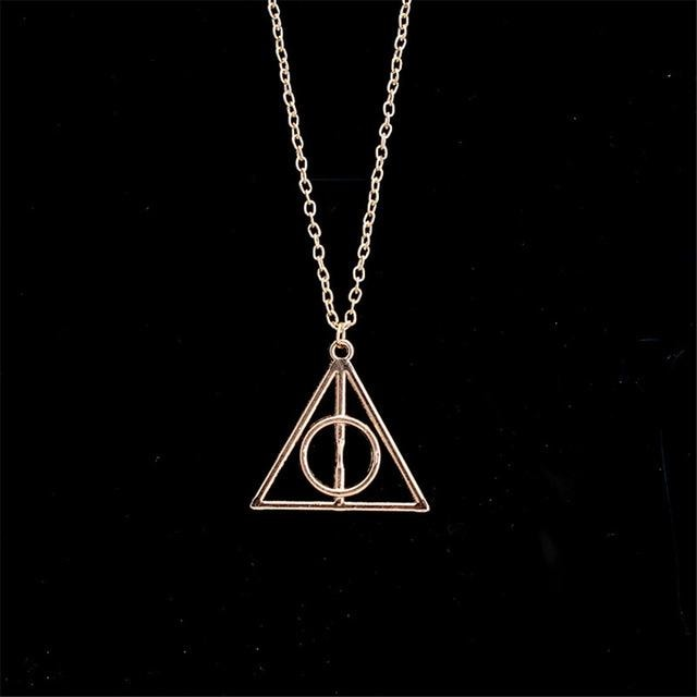 Deathly Hallows Harry Potter - Vintage Pendant Necklaces - 3