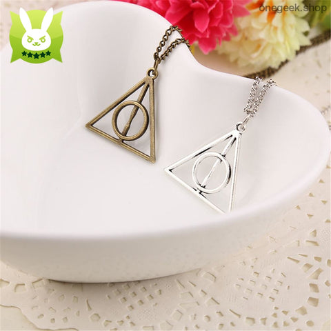Deathly Hallows Harry Potter - Vintage Pendant Necklaces