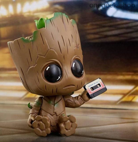 Groot: Guardians Of The Galaxy 2 - Groot with cassette - figure