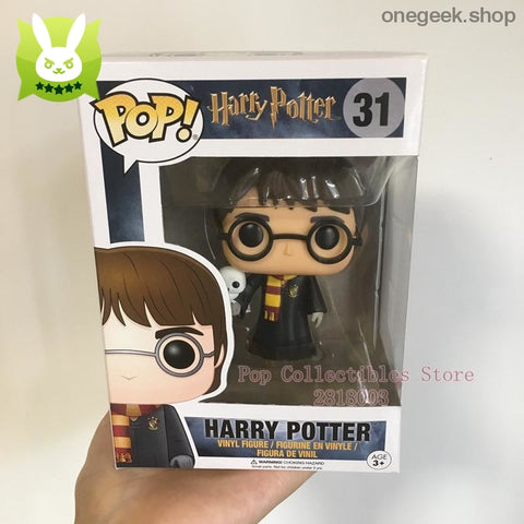 Harry Potter with Hedwig Vinyl Collectibles - Exclusive Funko Pop Official Harry Potter - vinyl figures