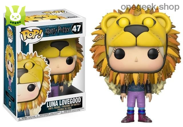 Luna Lovegood - Official Funko Pop Harry Potter - vinyl figures