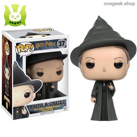 Minerva McGonagall Collectible Figures - Funko Pop Official Harry Potter - vinyl figures