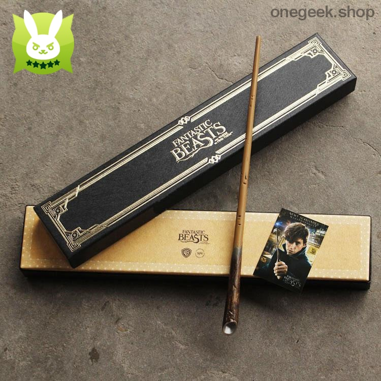 Newt Scamanders Collectible Wand - Fantastic Beasts and Where to Find Them - wand