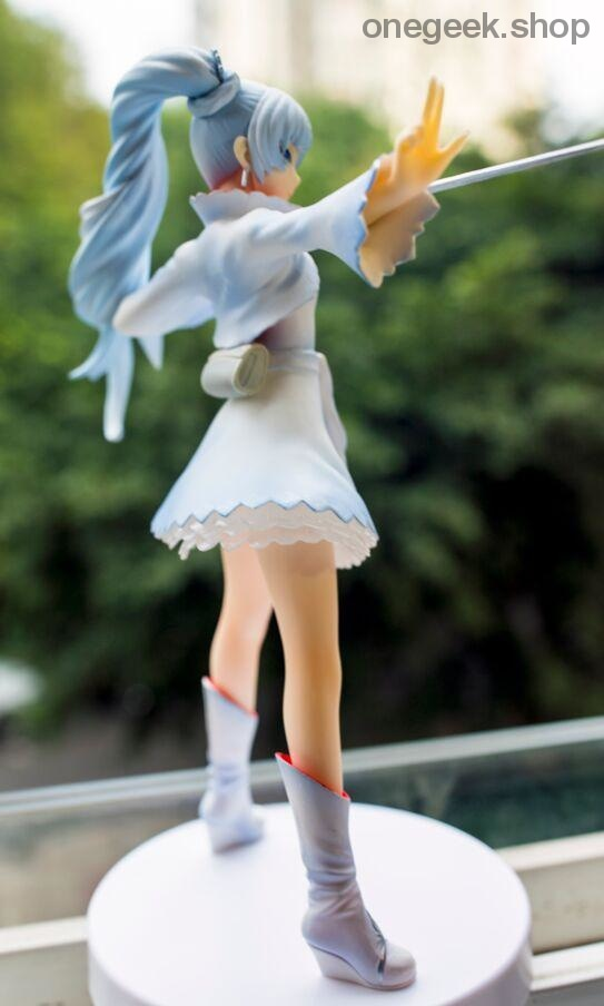 Original Japanese figure RWBY Weiss Schnee action figure collectible - action figure