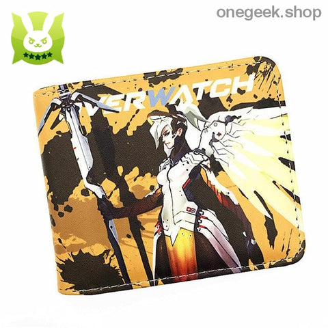 Overwatch Accessory starring Angela Ziegler MERCY - wallet