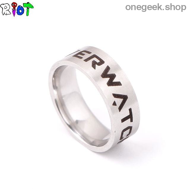 Overwatch Stainless Steel Ring - 8 / stainless steel - accessories