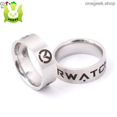 Overwatch Stainless Steel Ring - accessories