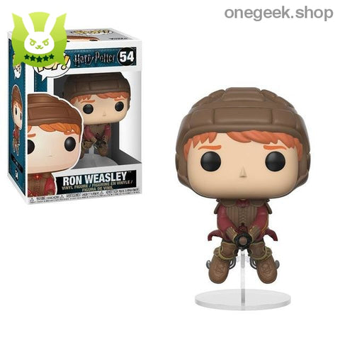 Ron Weasley on Broom Vinyl Figure Collectible - Funko Pop Official Movies: Harry Potter - vinyl figures