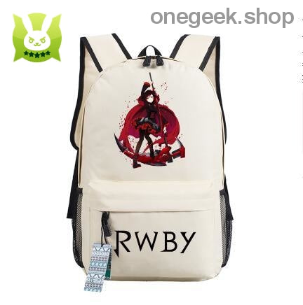 RWBY Anime Canvas Backpack