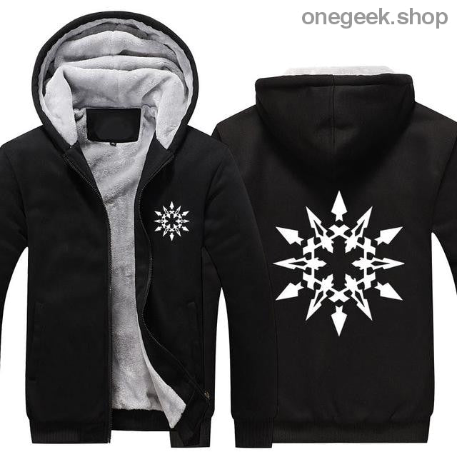 RWBY Hoodie - Get the Rose Schnee Belladonna Symbols on These Awesome Hoodies - black 2 / S - clothes