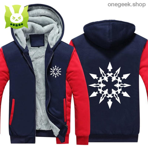 RWBY Hoodie - Get the Rose Schnee Belladonna Symbols on These Awesome Hoodies - clothes