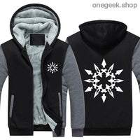 RWBY Hoodie - Get the Rose Schnee Belladonna Symbols on These Awesome Hoodies - gray 2 / S - clothes